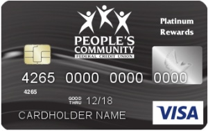 people's visa card