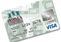 People's debit card
